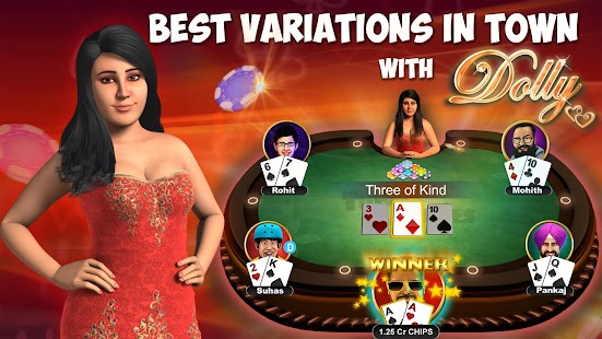 Teen Patti - Indian Poker- Best 3 Patti variations- screenshot thumbnail