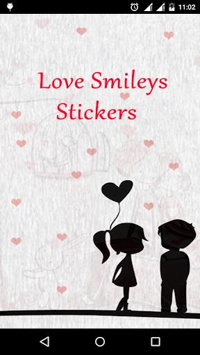 Love Smileys Stickers watsapp