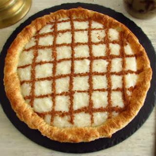 Rice Pudding Pie