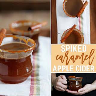 Spiked Caramel Apple Cider.