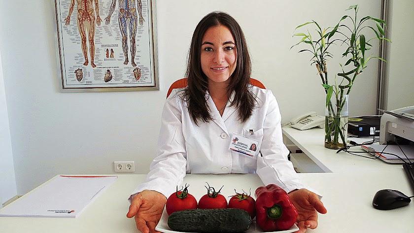 Malen Dobarro Aguirre,   nutricionista y dietista, HLA Mediterráneo.