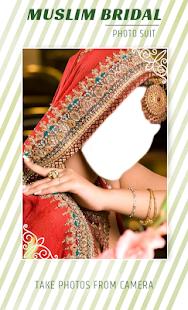 Muslim Bridal Photo Suit - náhled