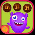 Kindergarten kids Learn Rhyming Word Games icon
