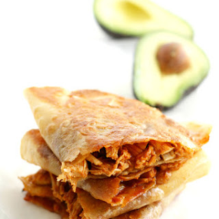 Barbecue Chicken Quesadillas.