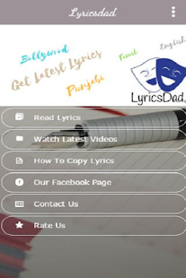 Lyricsdad - Lyrics & Videos- screenshot thumbnail