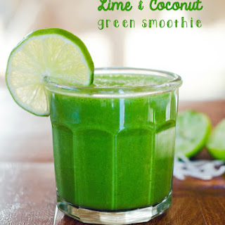 Lime and Coconut Green Smoothie Recipe