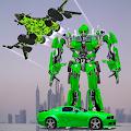 US Army Jet Robot Transforming Wars