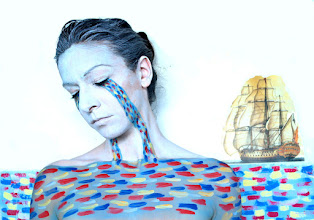 Photo: Body painting Mar de lágrimas