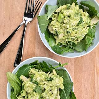 Mighty Green Chicken Salad.