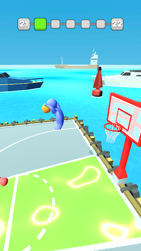 Basket Dunk 3D  captures d'écran 2
