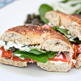 The Perfect Smoked Salmon Sandwich.