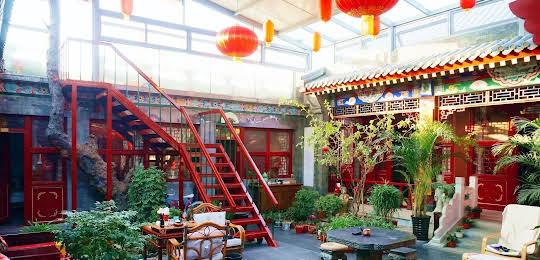 Templeside Deluxe Hutong Hotel Beijing