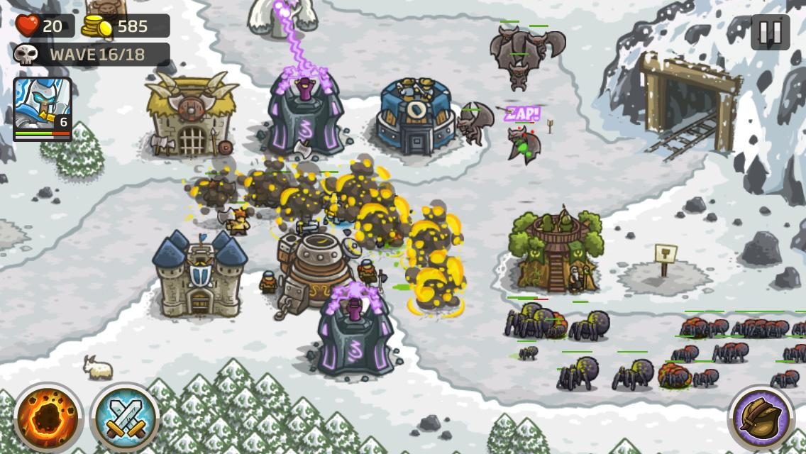 Kingdom Rush: captura de tela
