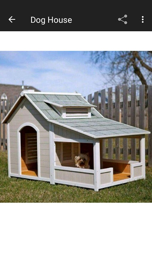DIY Dog House Design Ideas Android Apps On Google Play