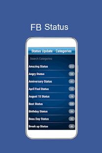 New FB Status 2018 - náhled