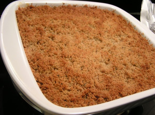 Bake uncovered for 45 minutes or until top is golden brown.  Cool for...