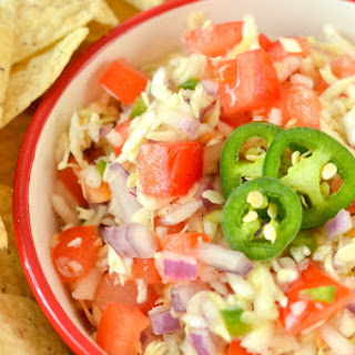 Spicy Jalapeno Cabbage Salsa