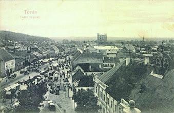 Photo: Vedere generala - pe la 1906 sursa https://www.facebook.com/groups/biselectro/permalink/1044122525609708/ si la 1911 - trucaj  http://postcards.hungaricana.hu/hu/103700/  1909 - Fan Turda, Szocs. Laslo