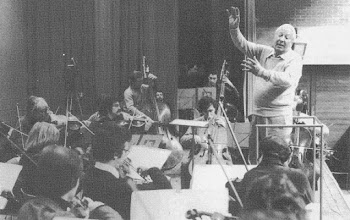 """Photo: DAVOS/SWITZERLAND, JAN 1979 - Edward Heath, former Prime Minister, United Kingdom guest conducting the Zurich Chamber Orchestra for the UNESCO charity event for the Year of the Child at the European Management Symposium, the predecessor of the World Economic Forum in Davos in 1979. Copyright <a href=""""http://www.weforum.org"""">World Economic Forum</a> (<a href=""""http://www.weforum.org"""">http://www.weforum.org</a>)"""