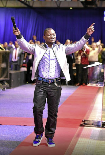 Tycoon prophet Shepherd Bushiri apparently hid at his church to avoid being arrested.
