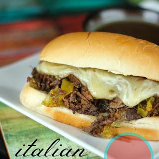 Italian Beef Roast Sandwiches