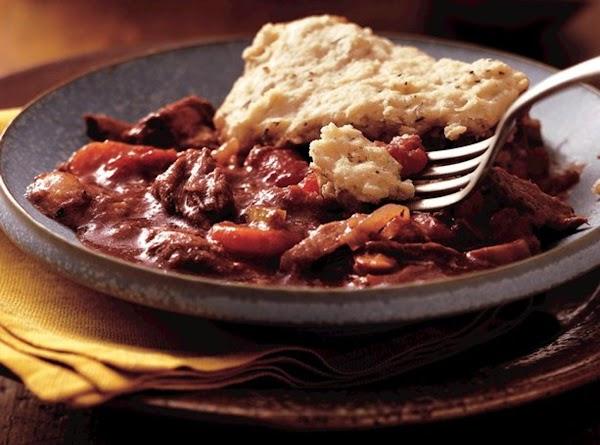 Burgundy Stew With Herb Dumplings (crock Pot) Recipe