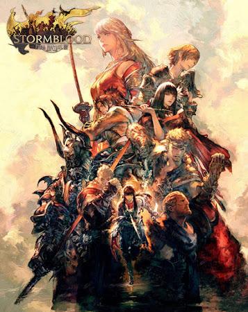 Final Fantasy XIV: Stormblood box art