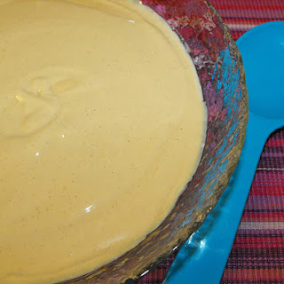 Lime and Cinnamon Flavored Mousse.
