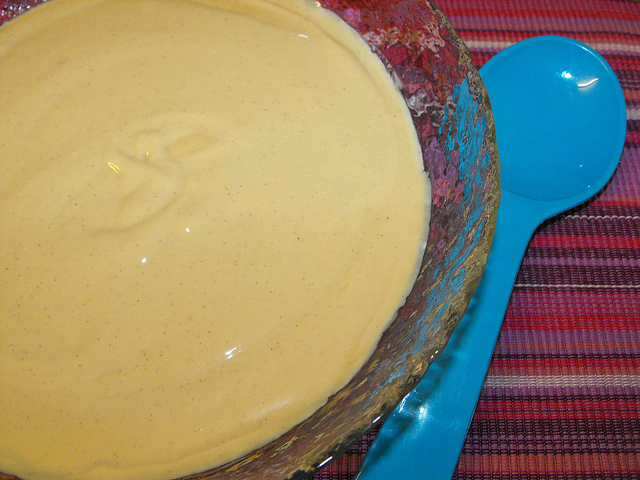 Lime and Cinnamon Flavored Mousse Recipe