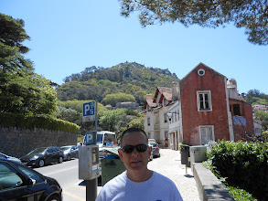 Photo: Walking up from the train station to the monuments in Sintra