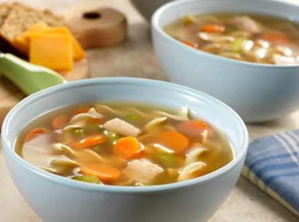Sensational Turkey Noodle Soup Recipe