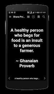 Ghana Proverbs - náhled