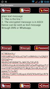 0 AES Message Encryptor for SMS App screenshot