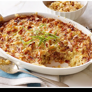 Cheesy Ham and Hash Brown Casserole.