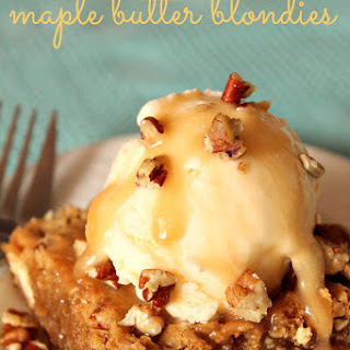 Applebee's Copycat Maple Butter Blondies