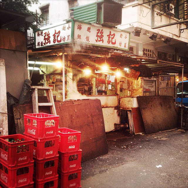hong kong, Sham Shui Po, Dai Pai Dong, Street Food, 香港, 大牌檔, 深水埗