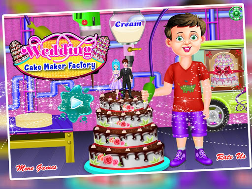 Wedding Cake Maker Factory  screenshots 8