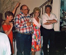 Photo: Carolyn (McGill) Hoelscher, Wally Chariton, Patty (Slimp) Martin, Ron Gunn