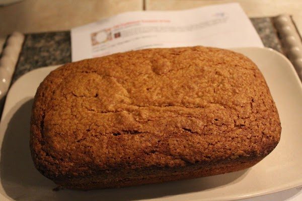 **Note: This recipe originally calls for it to be baked in 3 (1 lb)...