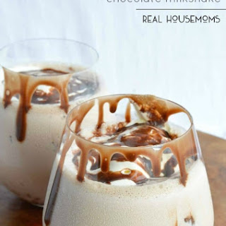 Irish Cream Chocolate Milkshake