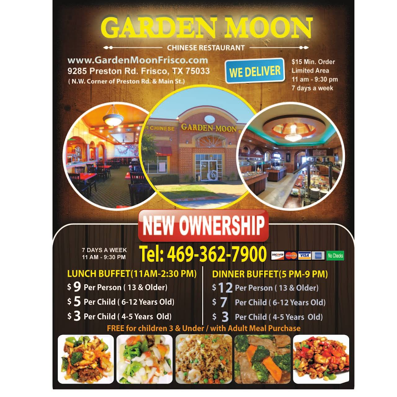 Posted On Dec 4 2018 Garden Moon Chinese Restaurant