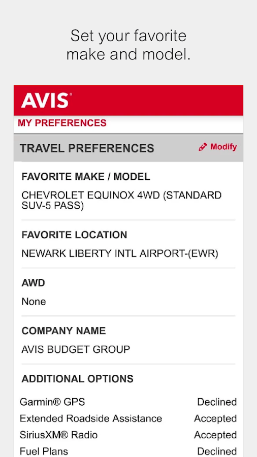 Avis Car Rental - Android Apps on Google Play