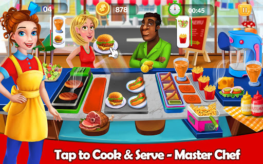 Tasty Kitchen Chef: Crazy Restaurant Cooking Games filehippodl screenshot 1