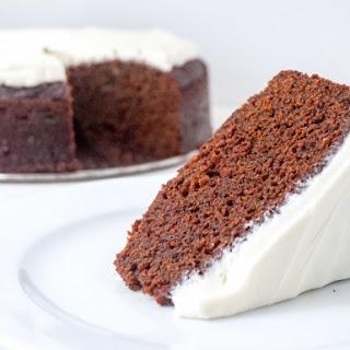 Molasses Gingerbread Cake