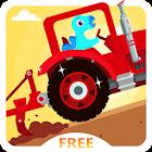 Dinosaur Farm Free - Tractor icon