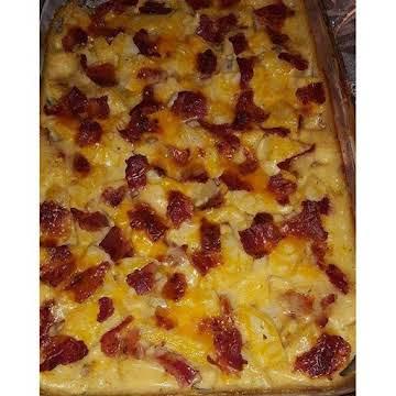 Cheesy ranch potatoes