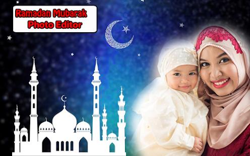 Ramadan Mubarak Photo Frames for PC-Windows 7,8,10 and Mac apk screenshot 1