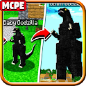 Godzilla The King of The Monsters Mod MC PE icon