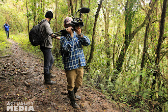 Photo: Another day of filming in the high mountains of Ecuador with the FCT crew.
