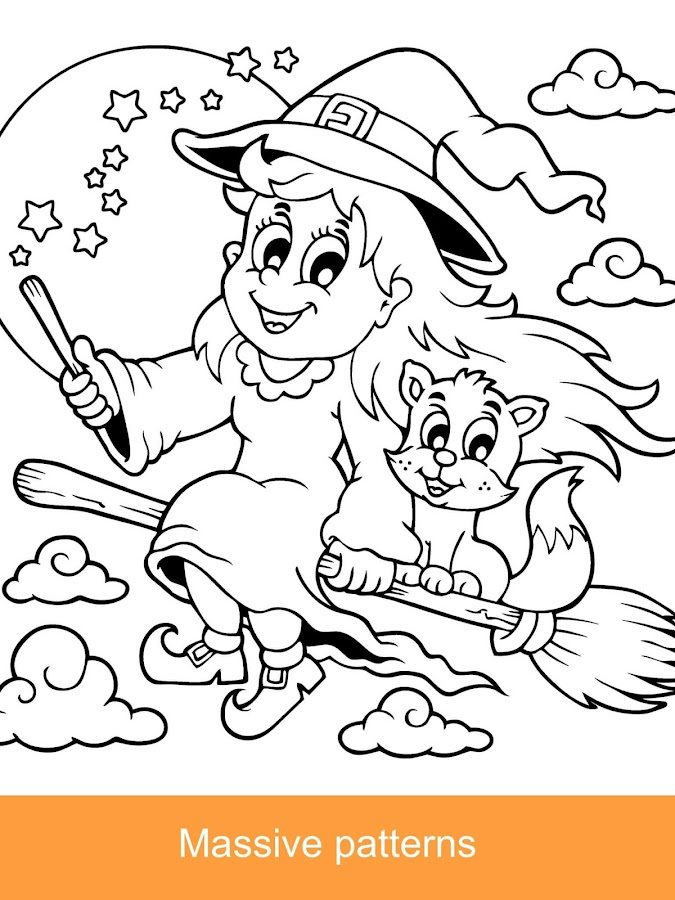 Halloween Coloring Books 2018 - Android Apps on Google Play